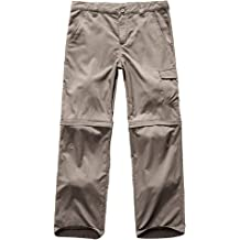 Kids Boys Girls Youth Outdoor Hiking Pants,Camping Fishing Zip Off Trousers FBA