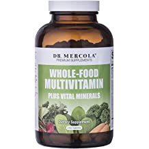 fa315c67f9f Dr Mercola Whole Food Multivitamin PLUS Tablets - 240 per Bottle - 30-day  Supply - High-Potency Antioxidant Formula - Vital Minerals - Supports .