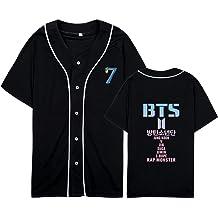 CHAIRAY BTS Love Yourself Answer Baseball Jersey Jimin Jungkook Suga V Sweater Hoodie