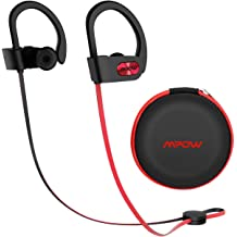 3f8f510e404 Mpow Flame Upgraded Bluetooth Headphones with Case, IPX7 Waterproof  Earphones Sport W/Mic, 7-9 Hrs Playing time, in-Ear Wireless Earbuds W/Rich  .