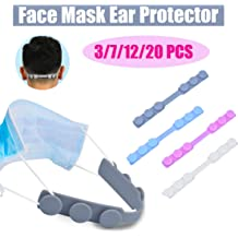 HOMGREEN Mask Strap Extender Adjustable Anti-Slip Ear Strap Mask Buckle Accessories Ear Hook Protector Ear Grips Extension Pain Relieved Adjustable Buckle Extension Accessories Protector Holder