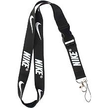01aca1b2b Lanyard Keychain Holder Keychain Key Chain Black Lanyard Clip with Webbing  Strap (Nike)