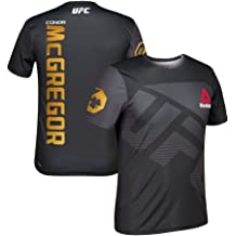 dee1abe0c5c0d3 adidas Conor McGregor Reebok UFC Official Champion Blk Fight Kit Walkout  Jersey ...