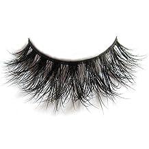 cb560729938 3D Mink Fur Fake Eyelashes 100% Siberian Mink Fur Hand-made False Lashes 1
