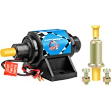 CarBole Universal Electric Fuel Pump 5//16 inch Inlet and Outlet 132LPH 4-7 psi