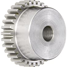 14.5 Pressure Angle 0.375 Face Width Steel 0.313 Bore 12 Teeth 20 Pitch Boston Gear NA12B-5//16 Spur Gear 0.700 OD Inch