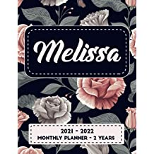 Personalized Calendar 2022.Buy Melissa 2021 2022 Monthly Planner Personalized Name Yearly Planner Monthly Calendar For Women Agenda Planner And Schedule Organizer Personalized Calendar With Holidays Inspirational Quotes Online In Bahrain B08p8d71c1