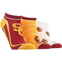 TCK USC Trojans Socks Basic Crew White Socks