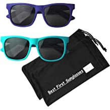 1079b5f6b Vintage– Best First Sunglasses for Infant, Baby, Toddler, and Kids. 100