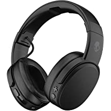 8e5fdc373ecb64 Skullcandy Crusher Wireless Over-Ear Bluetooth Headphones with Quick Charge  40-Hour Long Battery Life, Microphone, Noise Isolating Memory Foam, .
