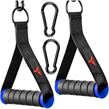 Heavy Duty Rubber Exercise Grips Solid Steel Accessories Lech Cable Machine Handles Attachments for Gym