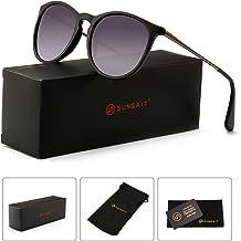 696676299e5 SUNGAIT Vintage Round Sunglasses for Women Classic Retro Designer Style