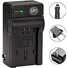 USB Dual Battery Charger for Panasonic HC-W850 HC-W858 Full HD Camcorder HC-W850K HC-W850M