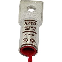 ILSCO ClearTap PCT-6-4//0 Type PCT Insulated Multi-Tap Connector Aluminum//Copper Conductor 4//0-6 AWG Run//Main Size