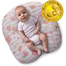 Co-Sleeping Anti-Roll with Bamboo Fabric SECOND MUM Portable Baby Bed Mattress Cosy Positioning Pad with Ultra Soft Head Shaping /& Newborn Lounger Pillow Baby Sleeper