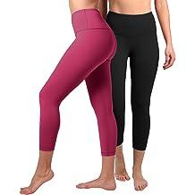 065389a4a0 90 Degree By Reflex – High Waist Tummy Control Shapewear – Power Flex Capri
