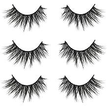 e770a565dc5 VGTE 3D False Eyelashes Extension 3Pairs Makeup Hand-made Dramatic Long  Lashes Reusable Cruelty-Free Fake Eyelash ¡