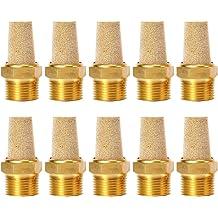 Uxcell a12042600ux0138 5 Pcs 1//8 Thread Sintered Bronze Pneumatic Exhaust Silencer Muffler Pack of 5