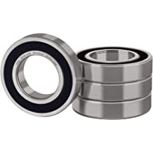 Pre-Lubricated and Stable Performance and Cost Effective XiKe 10 Pcs 627-2RS Double Rubber Seal Bearings 7x22x7mm Deep Groove Ball Bearings.