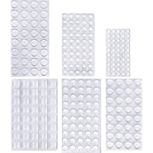 91cc11154fb Outus 254 Pieces Clear Rubber Feet Bumper Pads Adhesive Transparent Buffer  Pads Cabinet Door Bumpers Self