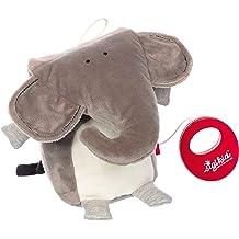 Sigikid 42291 Rattle Elephant Red Stars Pink