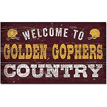NCAA Legacy Minnesota Golden Gophers Wood Plank Sign 14x24 Wood One Size