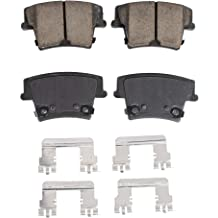 Journey 2009-2014 Caravan 2008-2016 Nitro 2007-2011 // Jeep Liberty 2008-2012 ProMax Select 57 Ceramic Brake Pad Kit Wrangler 2007-2017 // FRONT 57-1273 with Installation Hardware for Dodge G
