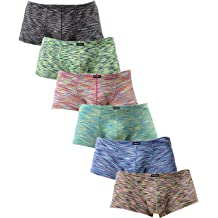 590c36c13be8 iKingsky Men's Stretch Boxer Briefs Underwear Sexy Low Rise Men Pouch  Boxer