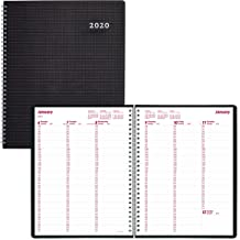 CB435W.BLK Black Brownline 2010 EcoLogix Monthly Planner Twin-Wire 14 Months 11 x 8.5 Inches